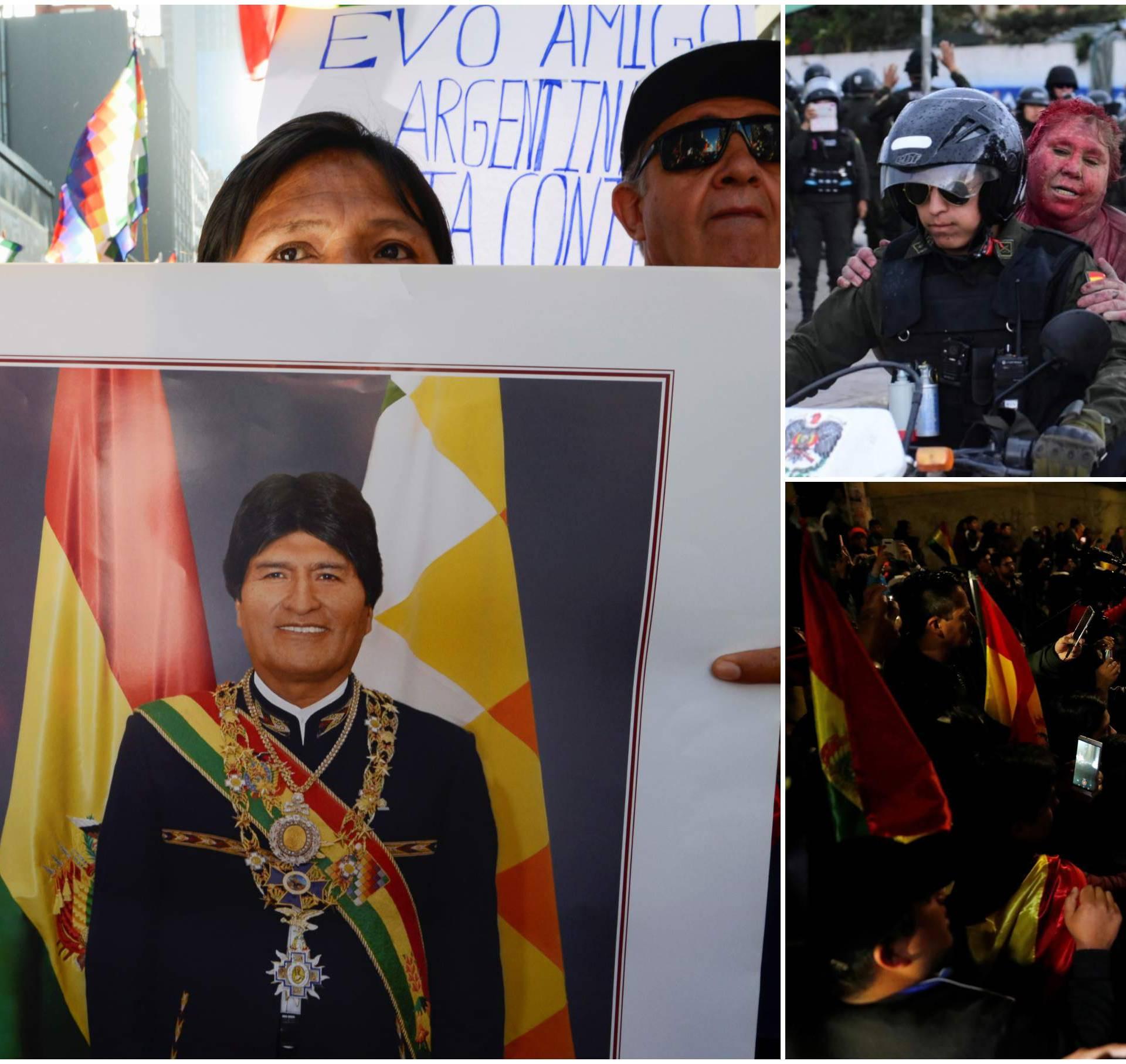 Kaos u Boliviji: 'Sestre i braćo, na nas se vrši državni udar!'
