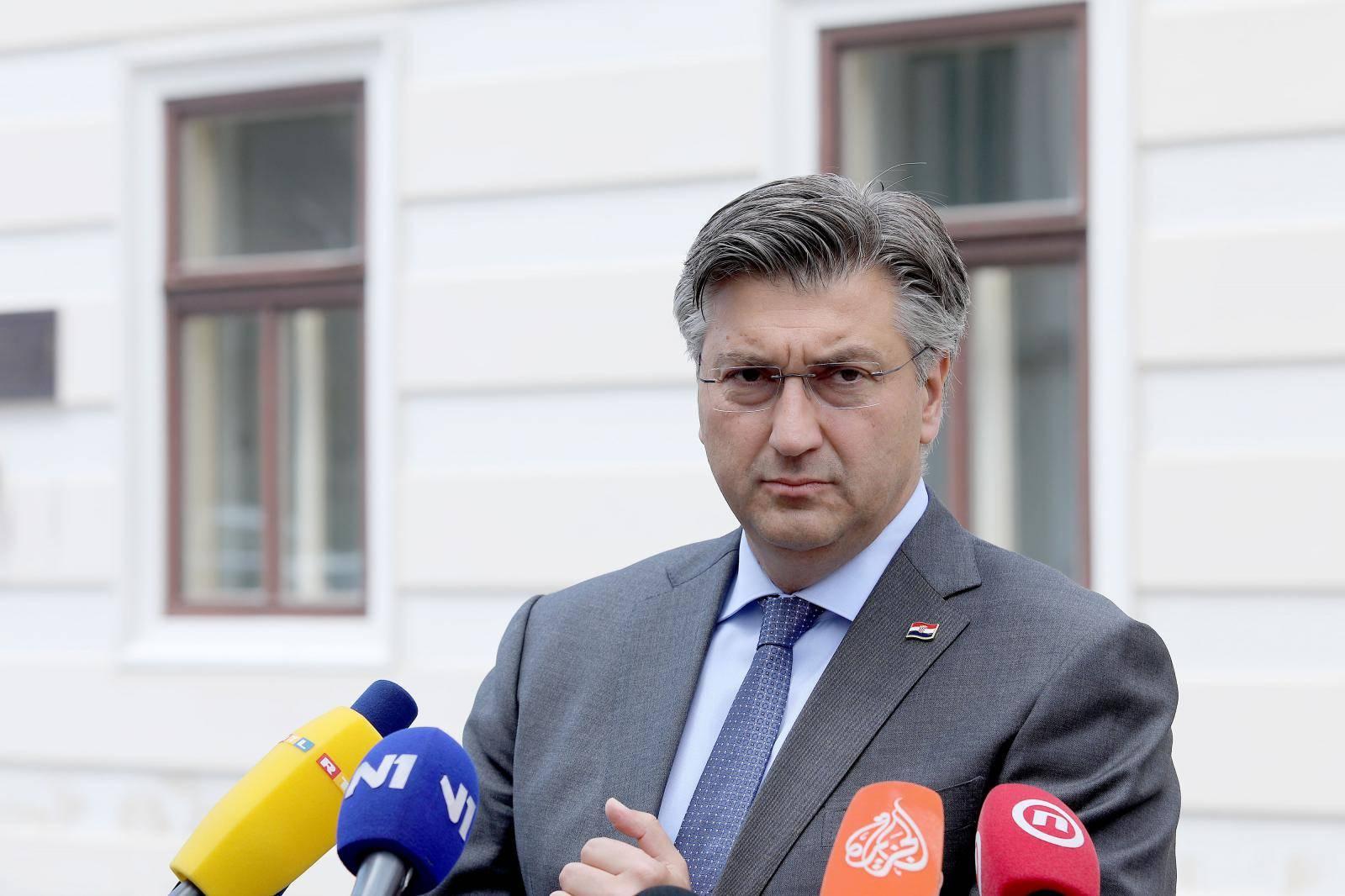 Plenković: Ovo su moji ministri