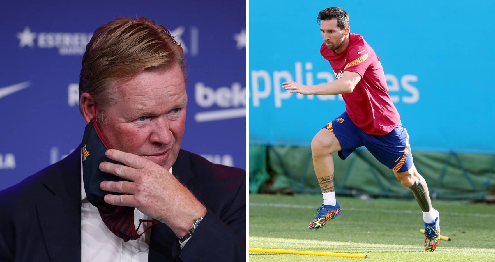 Messi se 'pokorio' Koemanu i obećao: Bit ću opet onaj pravi
