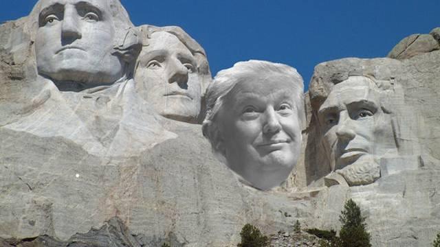 'Nisam predložio da me stave na Rushmore, ali ideja je dobra'