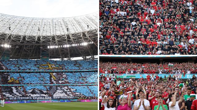 Pozdrav nogometu, a zbogom koroni: Pogledajte fotografije s krcatog stadiona u Budimpešti
