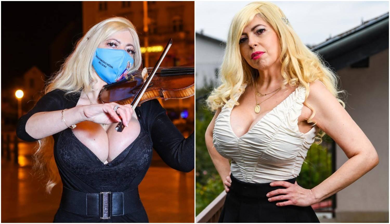 Violinistica: 'Bilo je hladno, ali haljina nije toliko izazovna...'