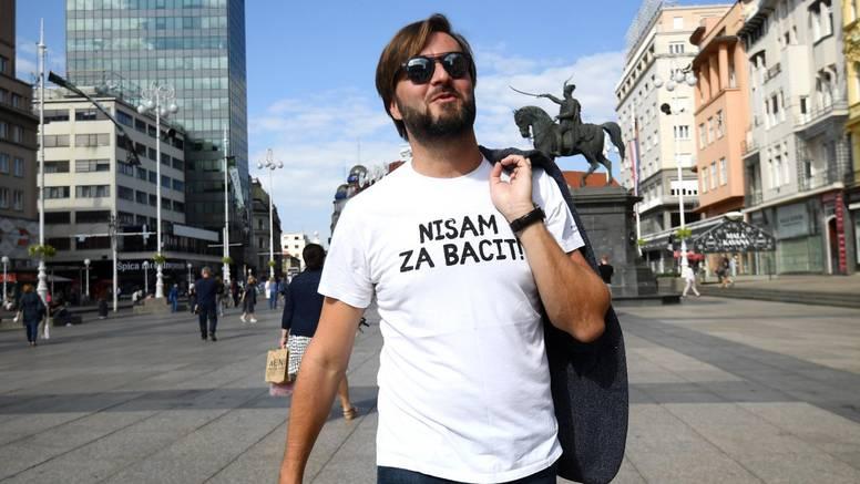 Na trgu bana Jelačića bila je akcija '#ZaZeleniSvakiDan'