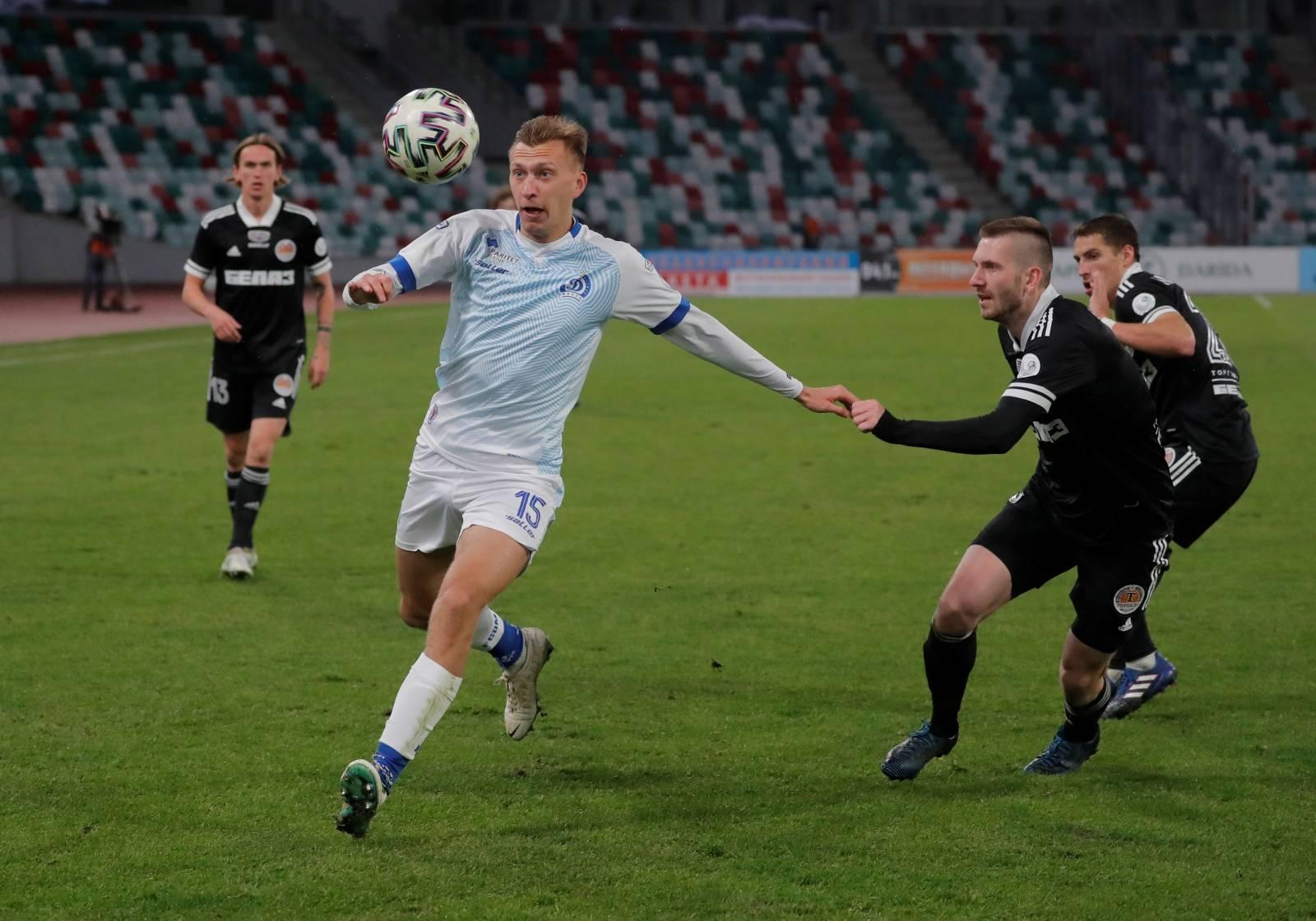 Vysheyshaya Liga - FC Dinamo Minsk v FC Torpedo-BelAZ Zhodino