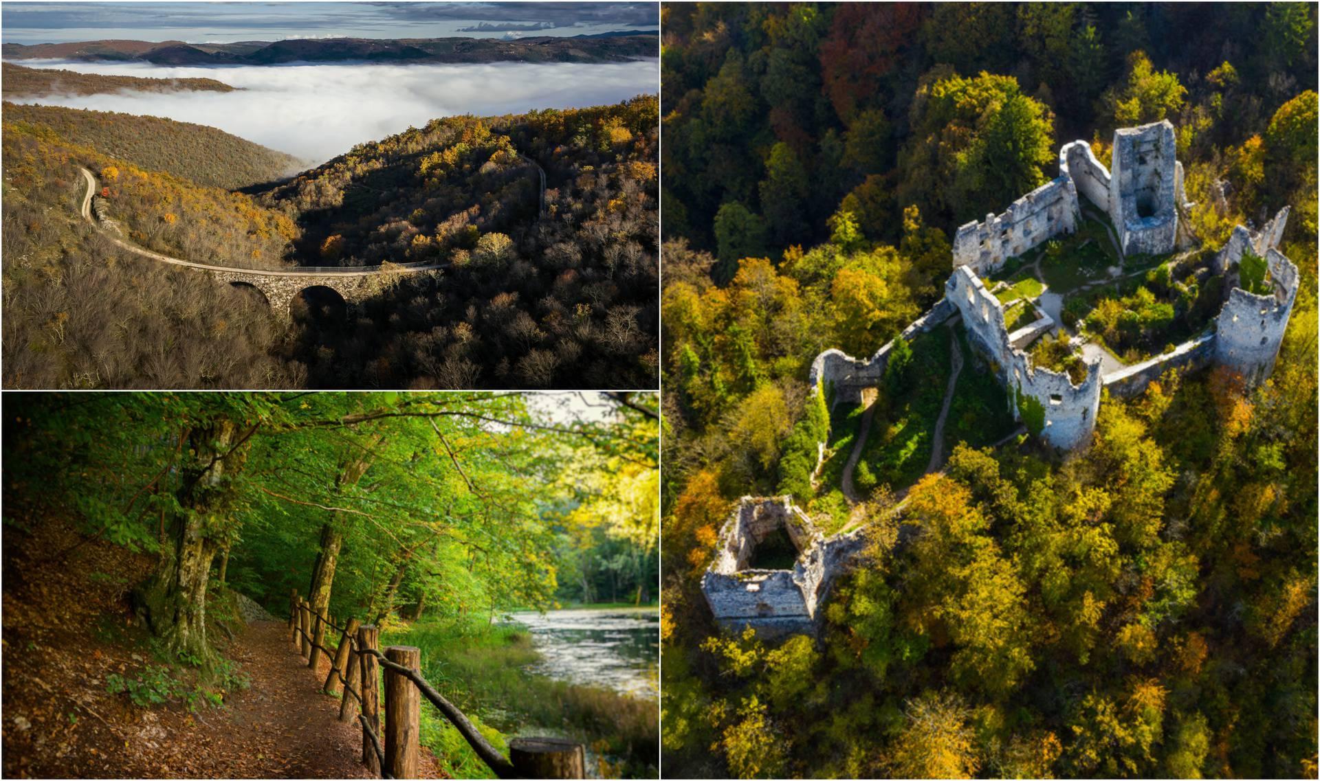 Ni vježbanje nije problem: Pogledajte pet prekrasnih hrvatskih lokacija