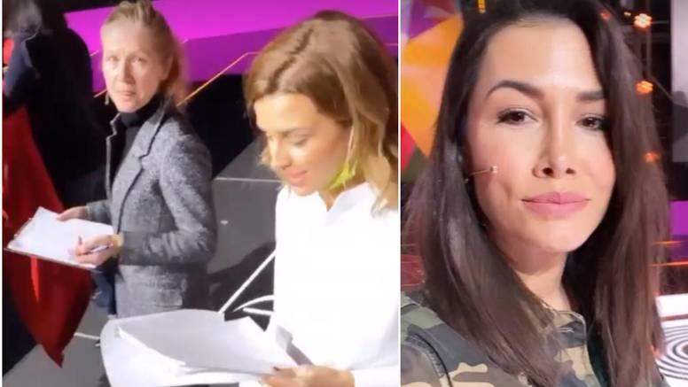 Zadnje pripreme za Doru: Kolar došla bez šminke, Lešić snimala