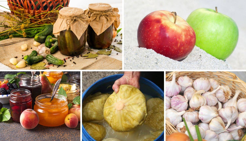 Zimnica naših baka: Voće i povrće su čuvale u pijesku, a u kiseli kupus su stavljale svašta