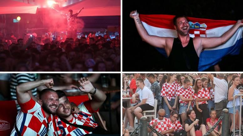Ludilo među navijačima: U Zagrebu bakljada, puna fan zona na splitskom Zvončacu