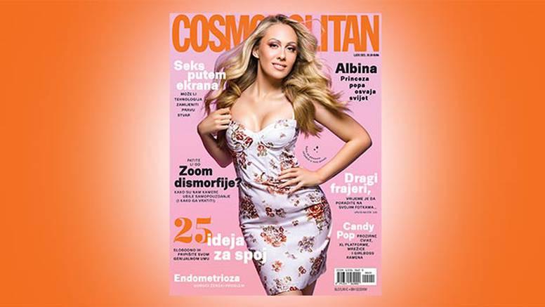 Albina na naslovnici novog broja Cosmpolitan magazina