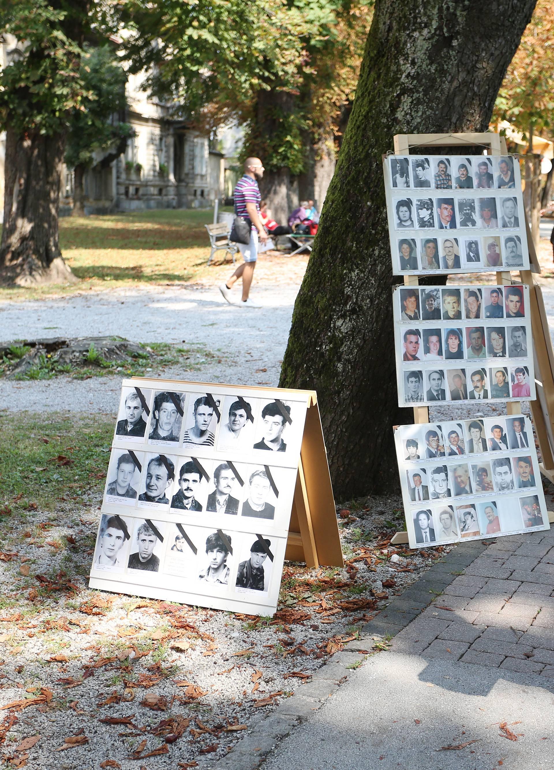 Karlovac: Predsjednica sudjelovala na obilježavanju Međunarodnog dana nestalih osoba