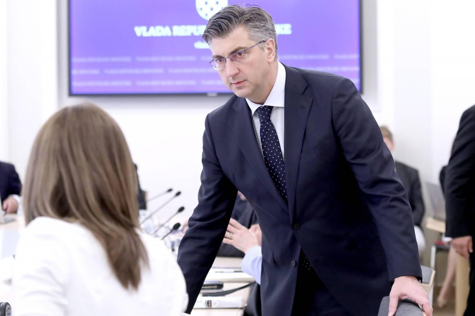 Zagreb: Vlada RH je 166. sjednicu počela raspravom o nacrtu ovršnog zakona