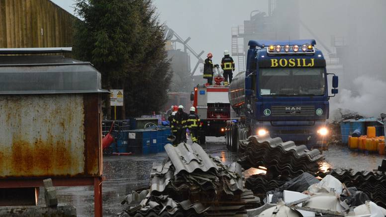 Uzrok požara u Grubišnom Polju je samozapaljenje otpada