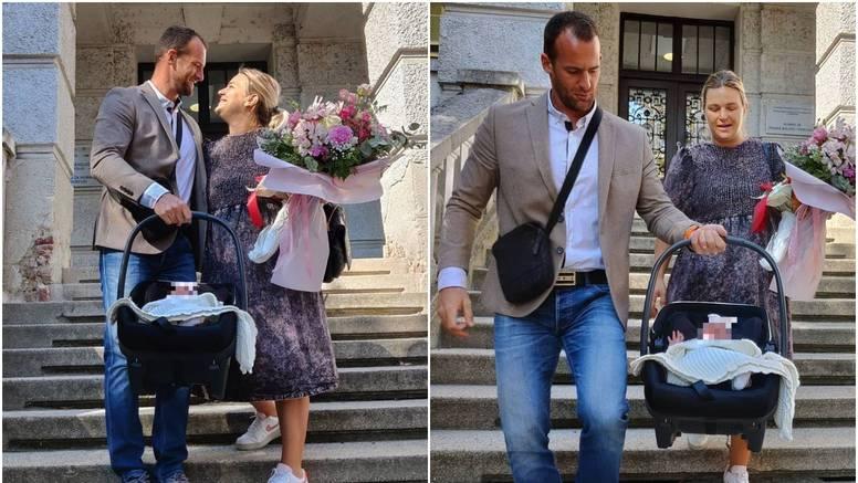 Naš olimpijac Damir Martin i supruga Ivana dobili su dijete