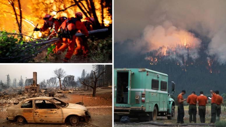 Kalifornijom hara Dixie, treći najveći požar u toj državi ikad