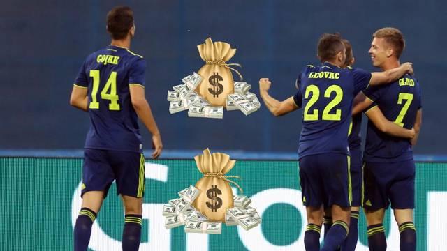 'Modri' će dobiti 15 mil. eura ako uđu u skupinu Lige prvaka