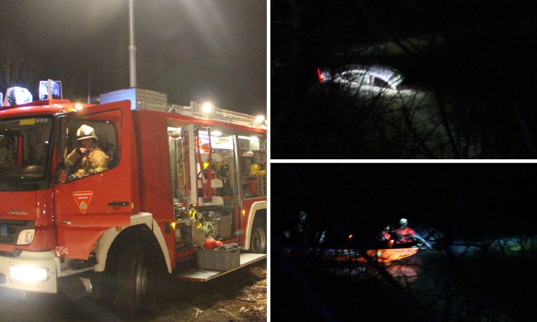 Mladić (21) autom završio u Dobri: Razbio staklo i spasio se