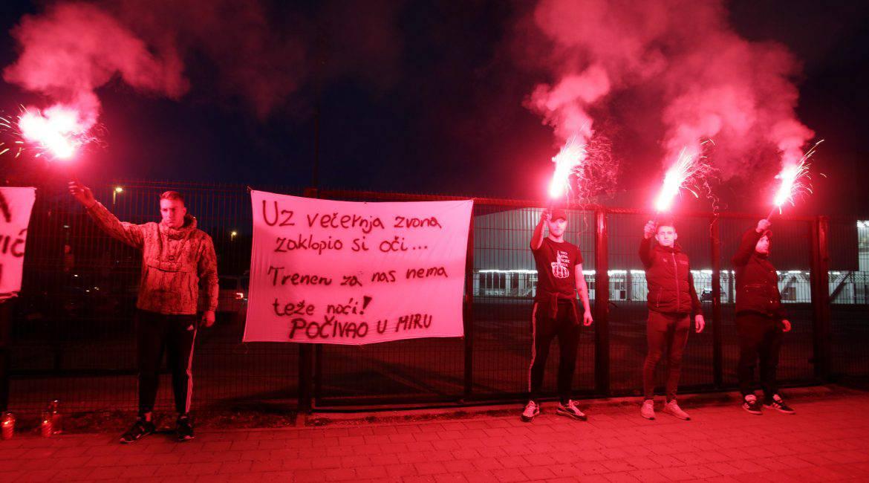 Bakljada za Saračevića: Uz večernja zvona zaklopio si oči, za nas, treneru, nema teže noći