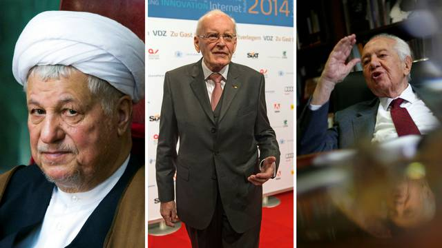 Umrla tri predsjednika: Hoće li 2017. biti kobna za političare?