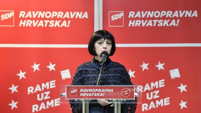 """Zagreb: Klisović i Holy predstavili dio SDP-ovog programa """"Ravnopravna Hrvatska u EU"""""""