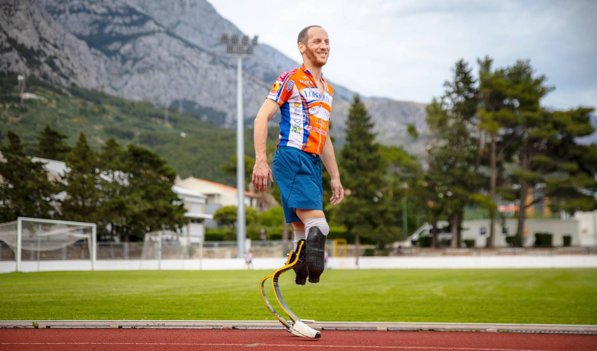 Prvi sam atletičar invalid koji će se utrkivati sa zdravima na 100 metara! I neću ispasti smiješan