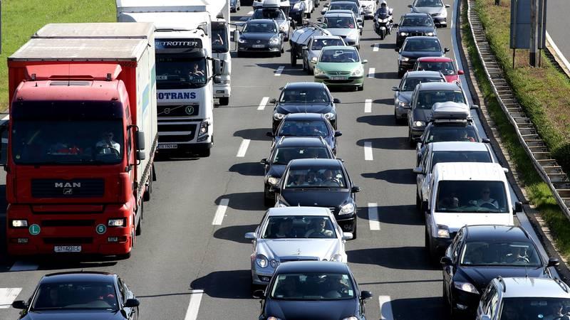 Kaos na autocesti: 'Za 2,5 km nam je trebalo dva i pol sata!'