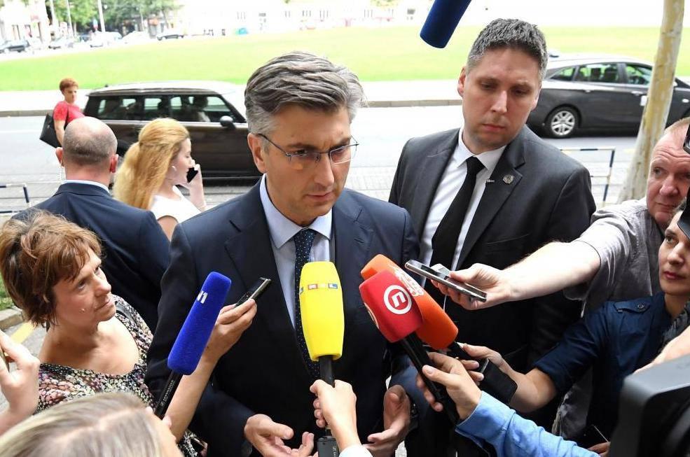 Zagreb: Održana zajednička sjednica Predsjedništva i Nacionalnog vijeća HDZ-a