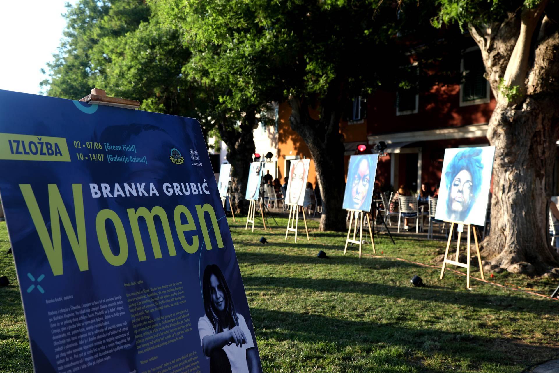 Umjetnica Branka Grubić novu izložbu posvetila ljepoti žene