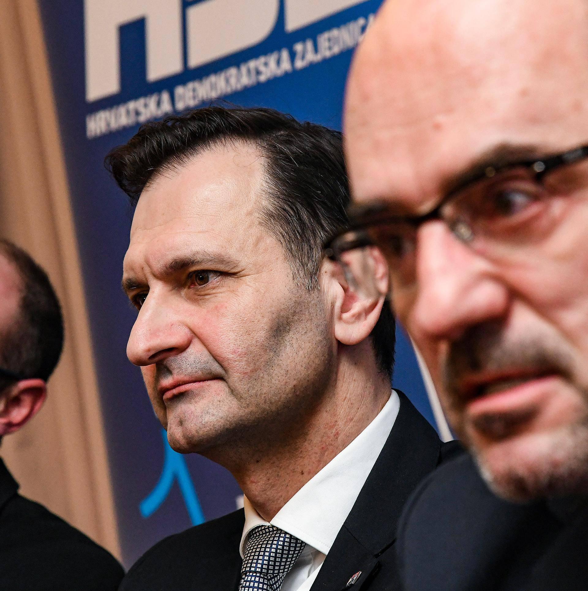 """Zagreb: Izborni stožer tima """"Opcija za promjene"""" na unutarstranačkim izborima u HDZ-u"""
