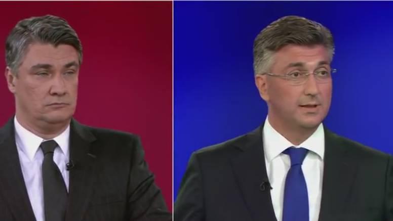 I udarci ispod pojasa: Žustra debata Milanovića i Plenkovića