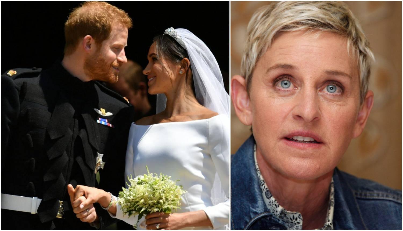 Ellen se rugala Meghan u vezi njezine udaje za princa Harryja