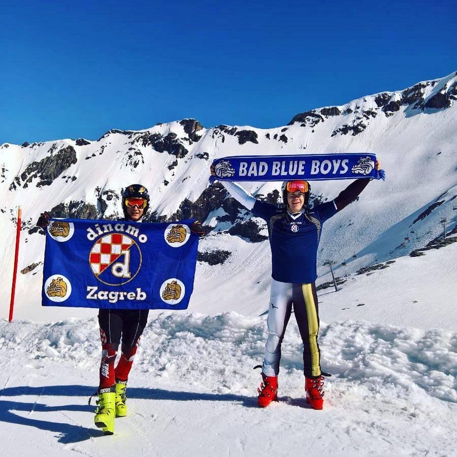 'Uvijek nosim Dinamov dres i šal, navijat ću s 3000 metara'