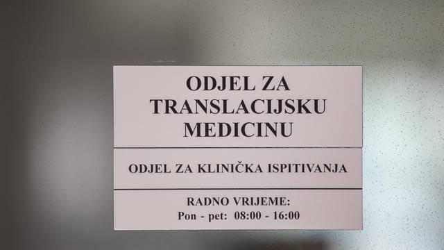 Divjak tvrdi: Projekt Centra za translacijsku medicinu na Srebrnjaku mogao bi propasti