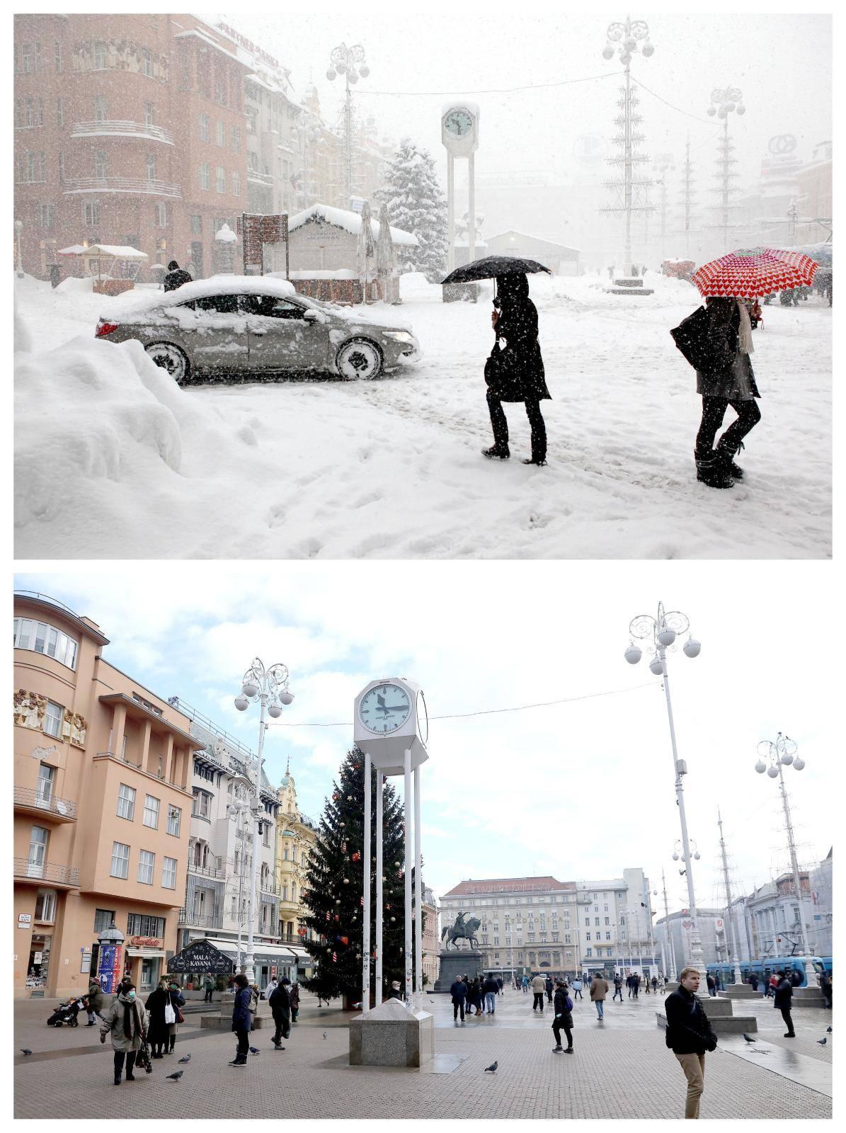 Na današnji dan prisjećamo se snježne mećave koja je zahvatila Zagreb prije točno osam godina