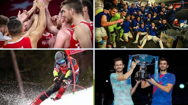 Nepobjedivi Hrvati: Nogomet, tenis, košarka, skijanje, pa nema nas nitko na svijetu!