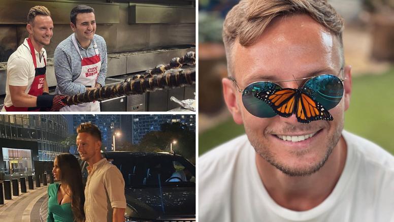 Rakitićeve fotografije iz Dubaija su hit na Instagramu: Zabilježio je sve, čak i to tko ih je vozio...