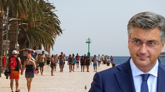 Premijer Plenković: 'Turistička sezona nam je iznad očekivanja'