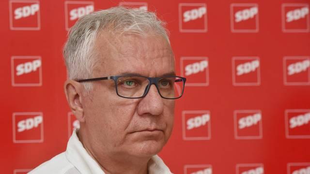 SDP najavio presicu: Tema je aktualna politička situacija