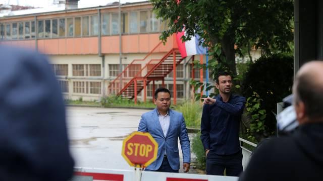 Rijeka: Kineska delegacija u obilasku brodogradilišta 3. maj