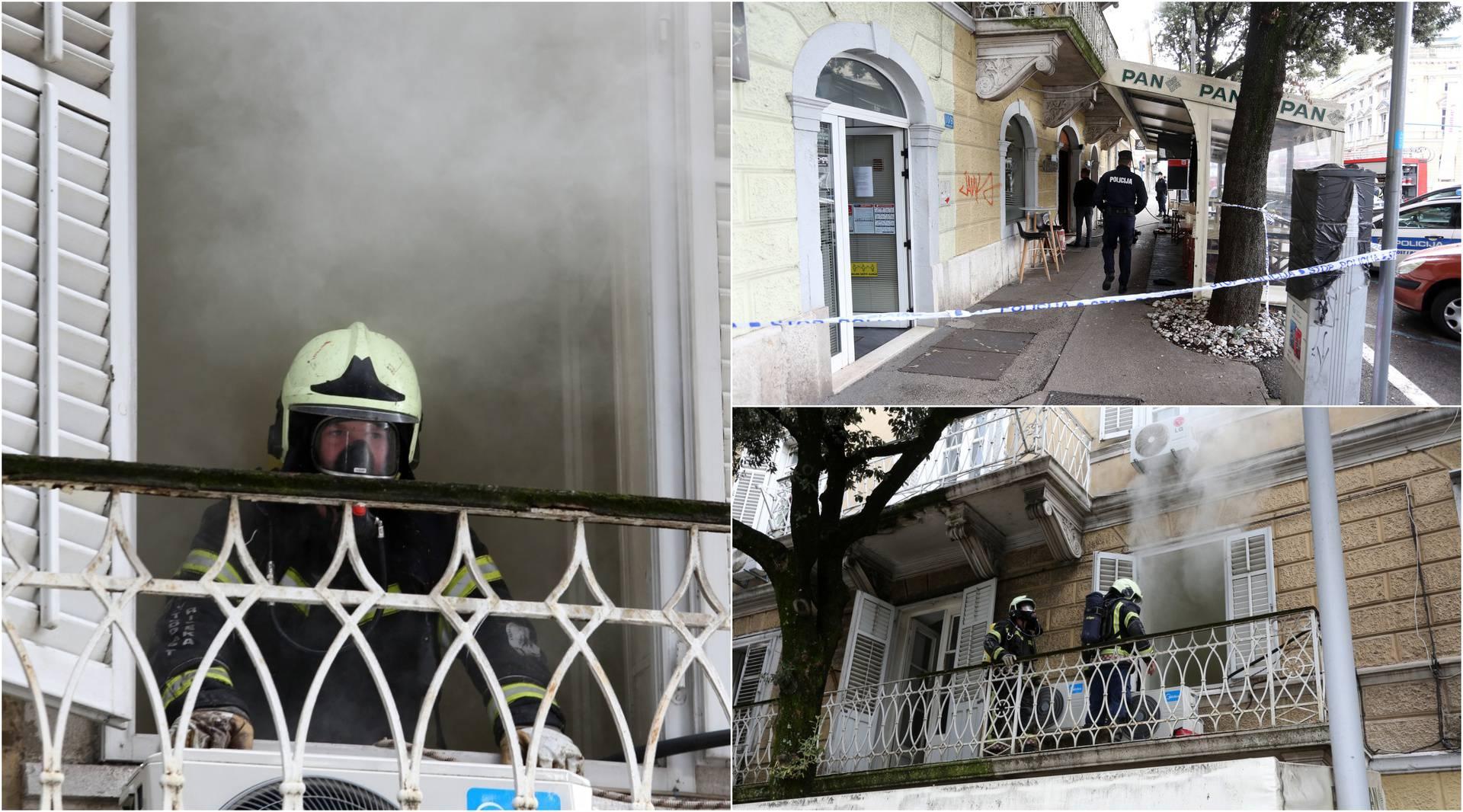 Ugašen požar na dimnjaku: Dim je probio u restoran u prizemlju!