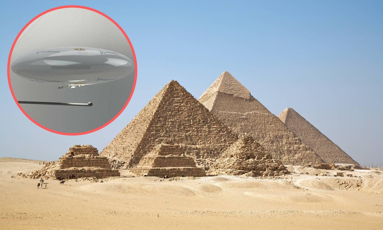 Što se tamo krije? Leteći robot istražit će tajnu sobu piramide