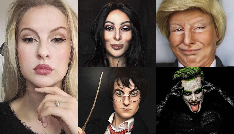 Šminkom se može pretvoriti u bilo koga: Trumpa, Kim, Cher...
