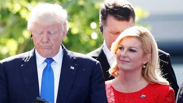 Kolinda o Trumpu: Ne očekujem opoziv. Policija im je - zakazala