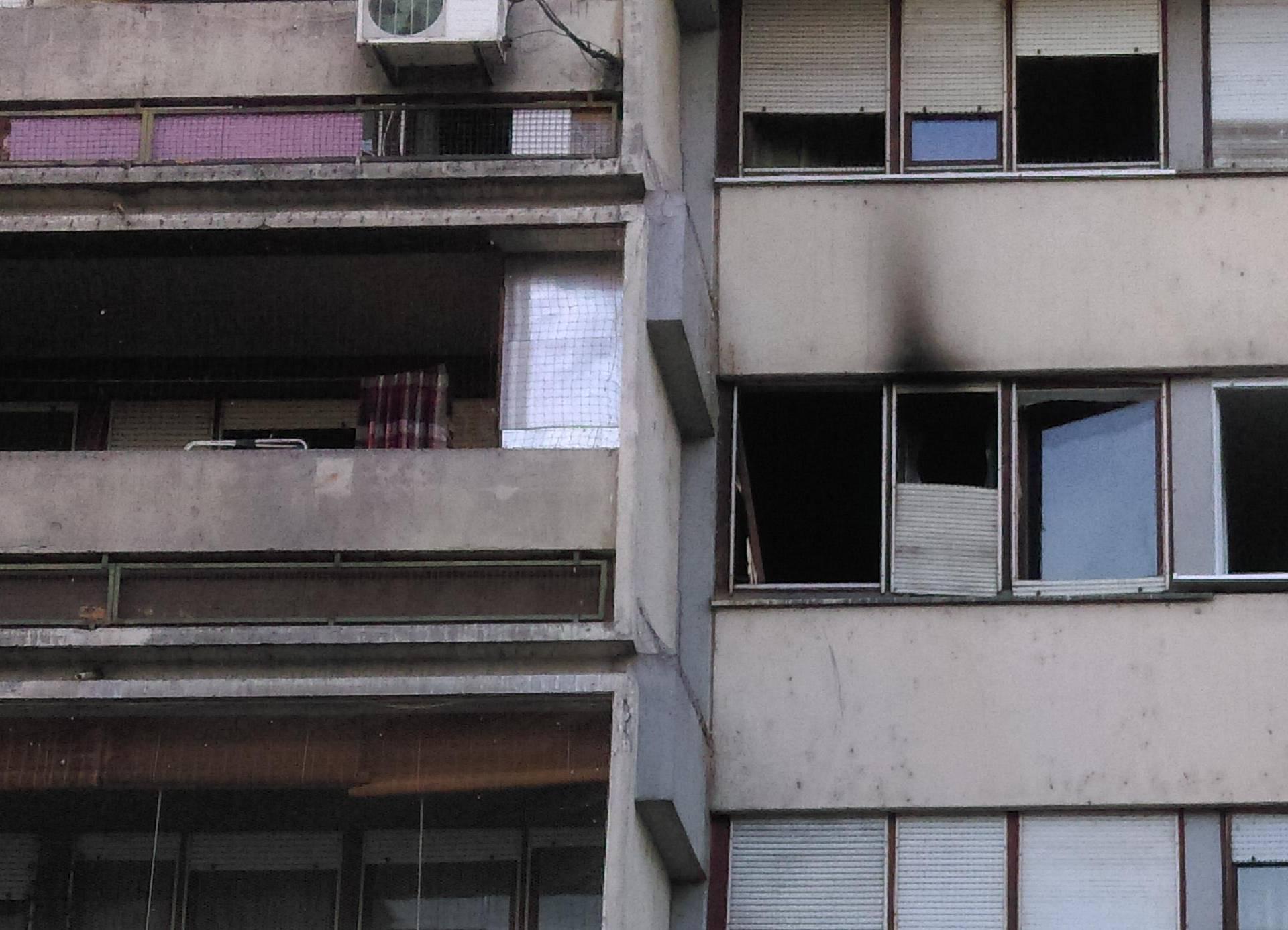Planuo stan na zagrebačkom Prisavlju: Kriv je kratki spoj?