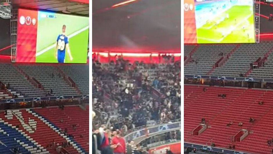 Uživajte: Nijemci navijačima Zvezde pustili golove Dinama
