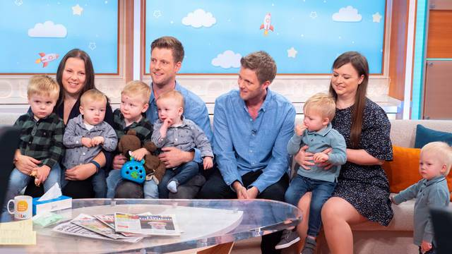 'Good Morning Britain' TV show, London, UK - 25 Oct 2019