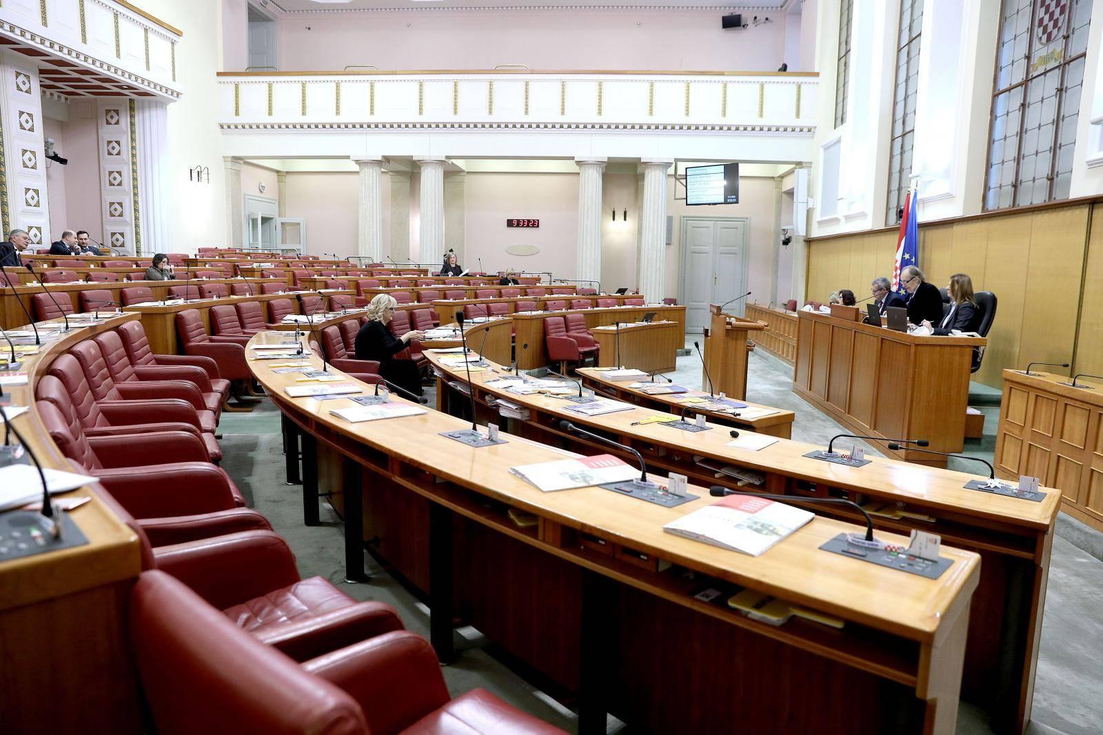 Zagreb: Sabor sjednicu nastavio raspravom o Prijedlogu zakona o Centru za posebno skrbništvo