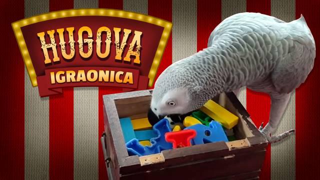 Hugo u svojoj igraonici: Zabave i rekvizita mu ne nedostaje...