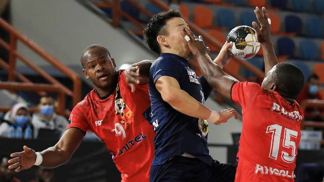 2021 IHF Handball World Championship - Preliminary Round Group C - Japan v Angola