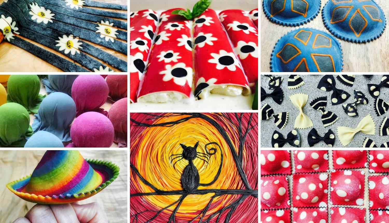 Prava umjetnička djela: Radi nevjerojatnu tjesteninu u boji