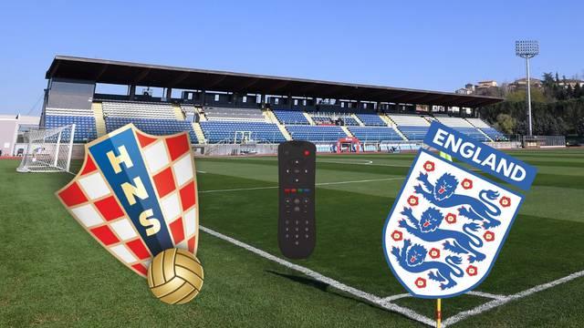 Evo gdje možete gledati susret Hrvatske i Engleske na Euru...